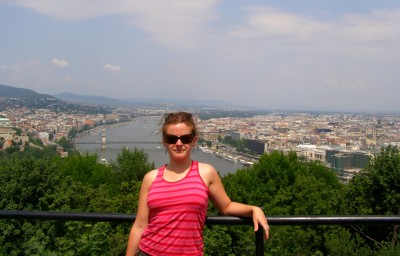 World Travellers:Stephanie Mayo from The World As I See It in Budapest