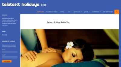 Teletext Holidays Website