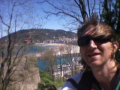 Backpacking in San Sebastian