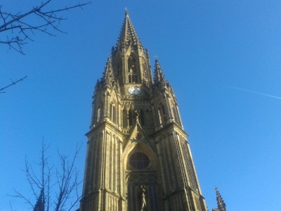Cathedral Buen Pastor in Donostia