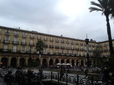 Plaza Nueva in Bilbao, Basque Country
