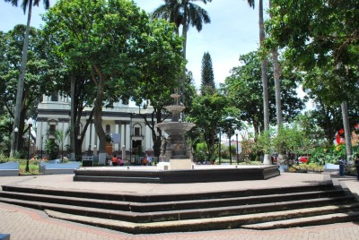 Parque Central in Alajuela