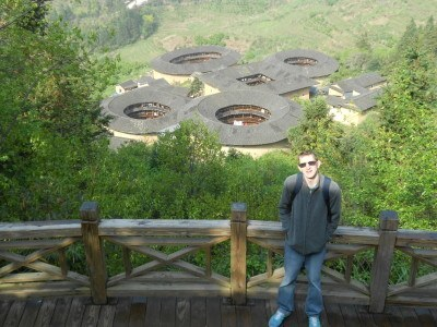 The amazing Fujian Tulou buildings - the cluster at Tian Luo Keng near Taxia Village