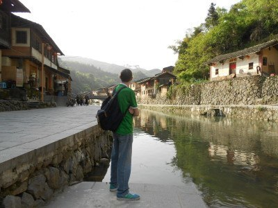 Touring Ta Pa Tsune/Taxia Village in China's Fujian Province