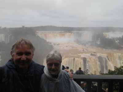 Mum and Dad at Iguacu
