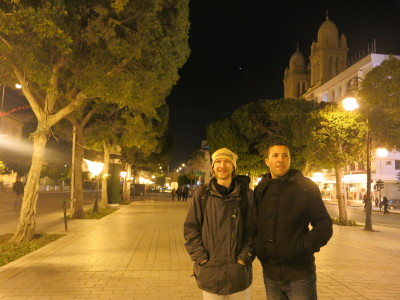 Touring Tunis with Ayoub