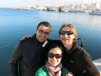 Wicem, Panny and I touring Monastir