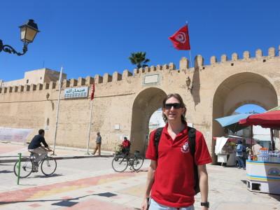 Entrance to The Medina, Kairouan, Tunisia