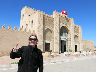 Touring Kairouan in Tunisia