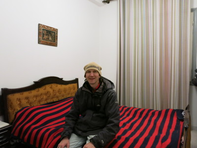 Our cosy double room at Dhia's flat