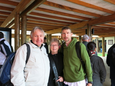 Touring Brazil with Mum and Dad - at Foz do Iguacu