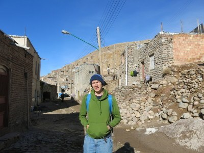 Backpacking in Kandovan, Iran