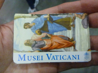 Musei Vaticani ticket - included as part of our tour - and zero queues!