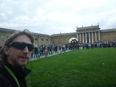 Enjoying my Vatican City tour with Walks of Italy