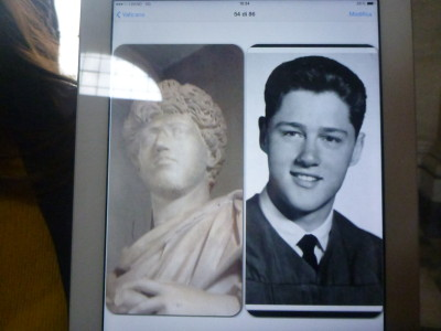 Lookalikes section - is this a young Bill Clinton?!