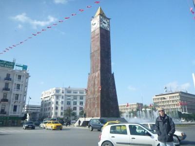 The Clock Tower/Plaza de 7 Noviembra 1987