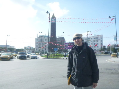 Central Tunis - Habib Bourguiba Avenue