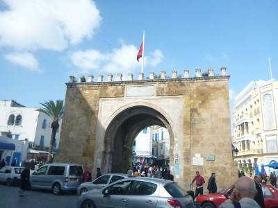 The Victory Arch in Tunis, Tunisia