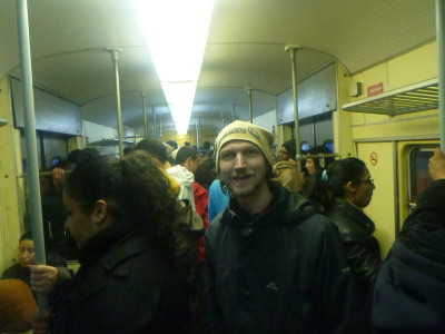 On the Tram in Tunis