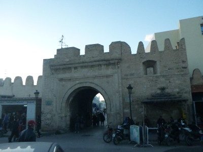 The Medina in Monastir, Tunisia