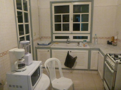 Kitchen at Dhia's flat