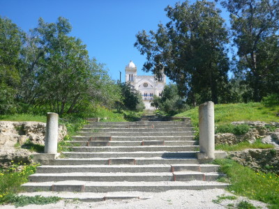 Touring the UNESCO World Heritage Site of Carthage, Tunisia