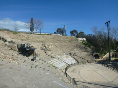 The excellent Roman Theatre in Carthage