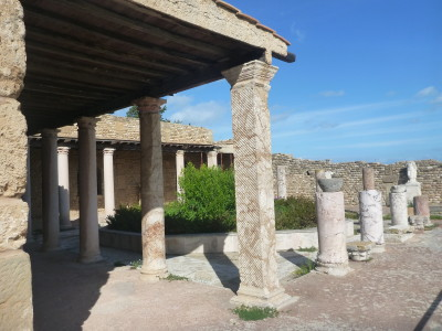 Roman Villa ruins at Carthage