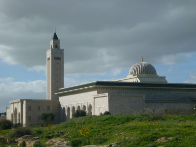 Modern day Carthage - the Mosque