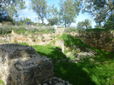 Archaeological Park in Carthage, Tunisia