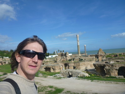 Backpacking in Tunisia: Top sights in Carthage.