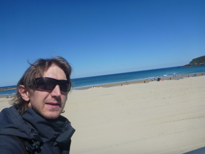 Back touring the beaches of Spain recently