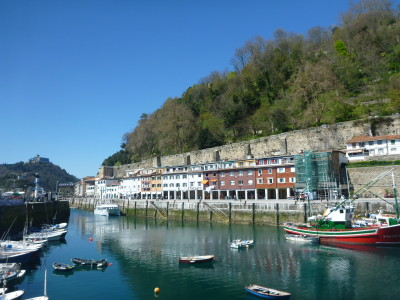 The beautiful harbour in Donostia/San Sebastian, Basque Country