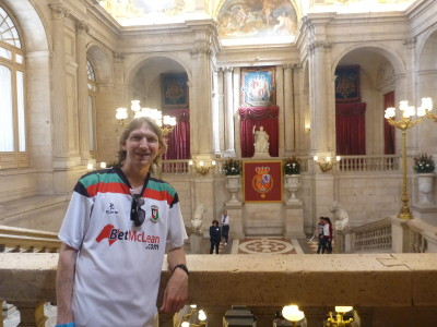 Touring the Palacio Real
