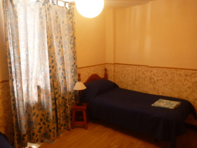 My Room in the Cannon Hotel, Gibraltar