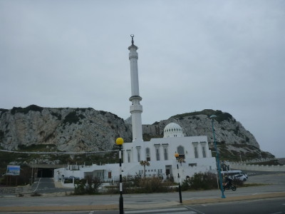 Gibraltar's Mosque of Two Holy Custodians - probably the southern most Mosque in Europe
