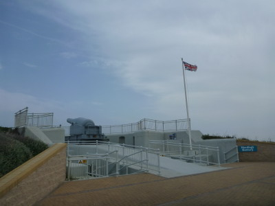 Harding's Battery on the south tip of Gibraltar