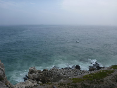A reminder of Eluanbi and the South China Seas - Europa Point here in Gibraltar