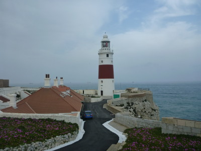 Top sights on the south tip of Gibraltar