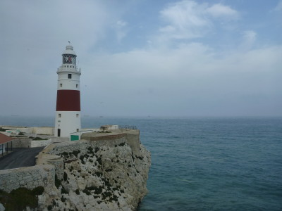 The southernmost tip of Gibraltar