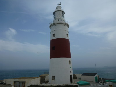 Trinity Lighthouse, the second most southern lighthouse in mainland Europe.