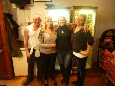 The friendly family at the Cannon Hotel