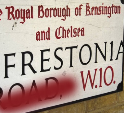 Freston Road in London, England or the Republic of Frestonia as it was once known.