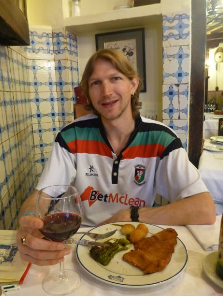 Lunch at the world's oldest restaurant