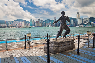 Bruce Lee at the Avenue of Stars, Kowloon
