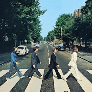 Original Album Cover from the Beatles - copyright EMI.
