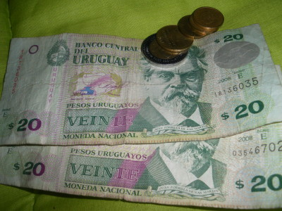 Save your Pesos for Montevideo my friends