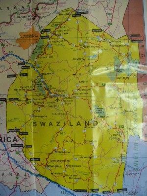 The country of Swaziland