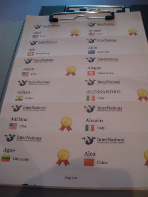 Internations: Members all over the world