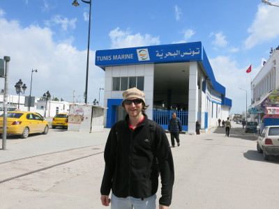 TGV Marine station for the train from Tunis to Sidi Bou Said